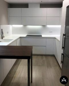 reforma cocina tecnomatt setp