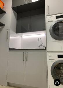 Lavandería vivienda unifamiliar