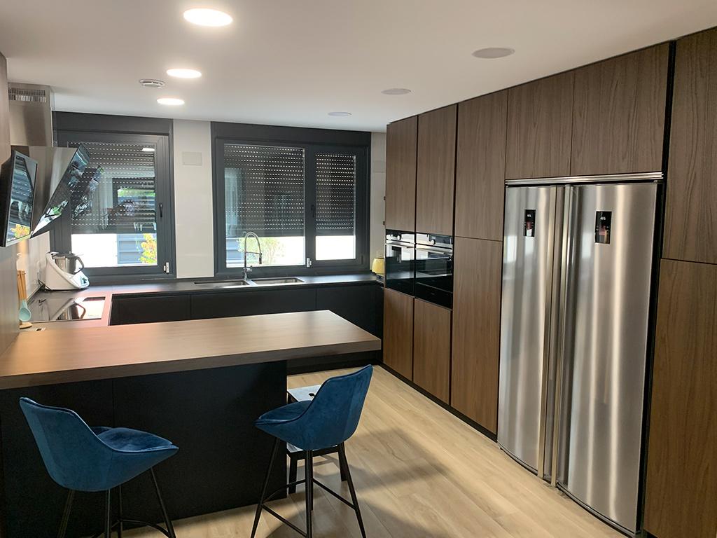 Cocina en vivienda unifamiliar